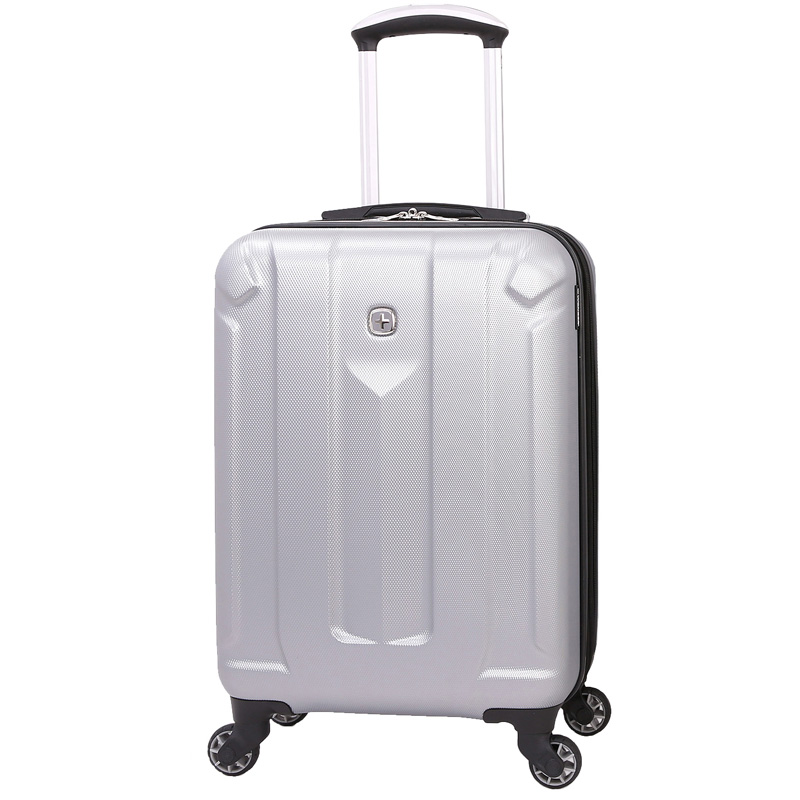 Маленький чемодан WENGER ZURICH III, серебристый, АБС-пластик, 34 л (2 c932bfa00b2
